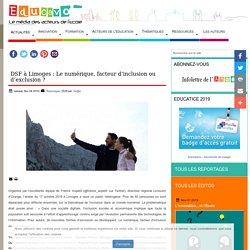 DSF à Limoges : Le numérique, facteur d'inclusion ou d'exclusion ?
