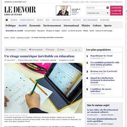Un virage numérique inévitable en éducation