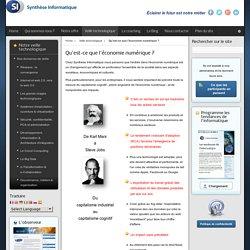 Qu'est-ce que l'économie numérique ? - Synthèse Informatique