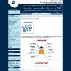 Qu'est-ce que l'identité numérique - Fil d'actualité du Service Informatique et libertés du CNRS