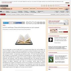 Le livre numérique, l'innovation dont personne ne veut vraiment
