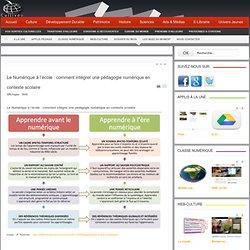 Le Numérique à l'école : comment intégrer une pédagogie numérique en contexte scolaire
