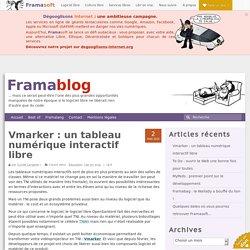 Vmarker : un tableau numérique interactif libre