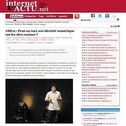 #lift12 : Peut-on tuer son identité numérique sur les sites sociaux