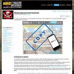 BD numérique : Offres légales et anti piratage - BDZMag