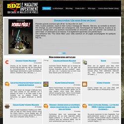 BD numérique : BDZMag - Le magazine impertinent qui cause de bulles et de pixels