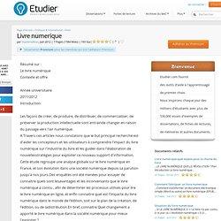 Livre Numerique - Dissertations - Masteredition