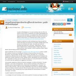 Accueil numérique dans les offices de tourisme : guide méthodologique