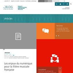 Les enjeux du numérique pour la filière musicale française