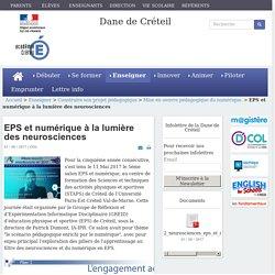 EPS et numérique à la lumière des neurosciences