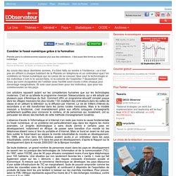 Combler le fossé numérique grâce à la formation - Observateur OCDE