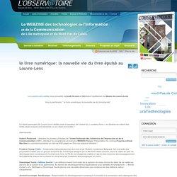 le livre numérique: la nouvelle vie du livre épuisé au Louvre-Lens « L'Observatoire des TIC