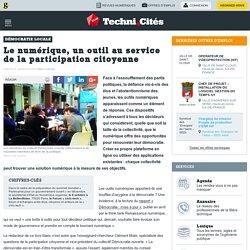 Le numérique, un outil au service de la participation citoyenne