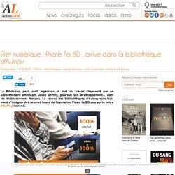 Prêt numérique : Pirate Ta BD ! arrive dans la bibliothèque d'Aulnay
