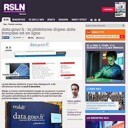 data.gouv.fr : la plateforme d'open data française est en ligne