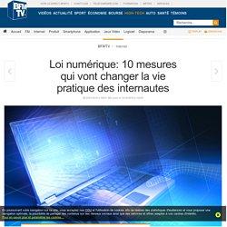Loi numérique: 10 mesures qui vont changer la vie pratique des internautes - SFR News