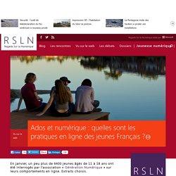 Ados et numérique : quelles sont les pratiques en ligne des jeunes Français ?