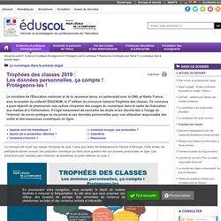 Le numérique dans le premier degré - Trophées des classes