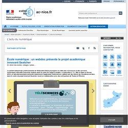 École numérique : un webdoc présente le projet académique innovant Seatcher