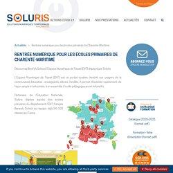 Rentrée numérique pour les écoles primaires de Charente-Maritime - www.soluris.fr