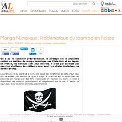 Manga Numérique : Problématique du scantrad en France