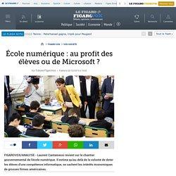 École numérique : au profit des élèves ou de Microsoft ?
