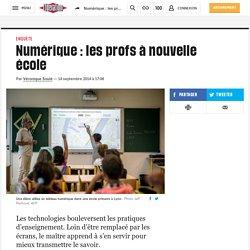 Numérique: les profs ànouvelle école