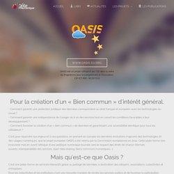 Pôle Numérique - Le projet européen Oasis