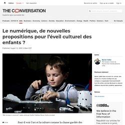 Le numérique, de nouvelles propositions pour l'éveil culturel des enfants ?