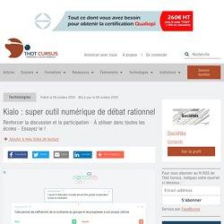 Kialo : super outil numérique de débat rationnel - Thot Cursus