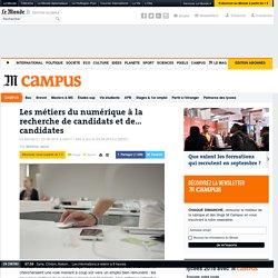 Les métiers du numérique à la recherche de candidats et de… candidates