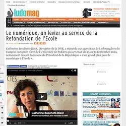 Le numérique, un levier au service de la Refondation de l'Ecole - Ludovia Mag...