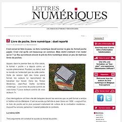Livre de poche, livre numérique : duel reporté