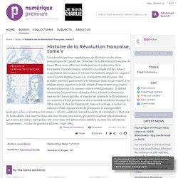 Numerique Premium - Histoire de la Révolution française, tome V