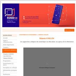 Usages du numérique en éducation : regards critiques - Sciencesconf.org