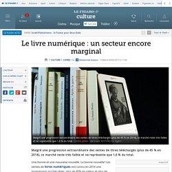 Le livre numérique: un secteur encore marginal