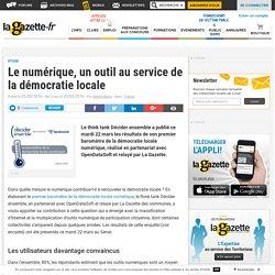Le numérique, un outil au service de la démocratie locale