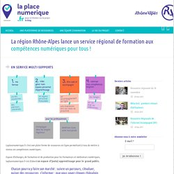 La place numérique Un service multi-supports - La place numérique