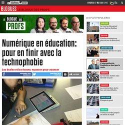 Numérique en éducation: pour en finir avec la technophobie