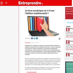 Livre numérique et édition traditionnelle
