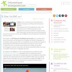 Espace numérique de travail pour le primaire : One