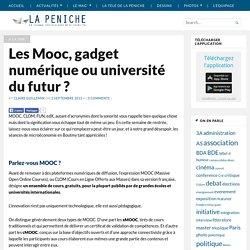 Les Mooc, gadget numérique ou université du futur ?