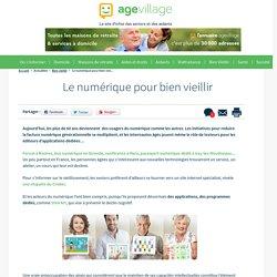 Le numérique pour bien vieillir - 13/03/17