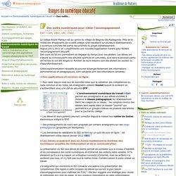 Des outils numériques pour cibler l'accompagnement- Usages du numérique éducatif