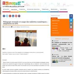 Pédagogie inversée et usage des tablettes numériques : adaptation en EPS