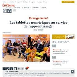Les tablettes numériques au service de l'apprentissage - Nevers (58000) - Le Journal du Centre