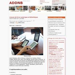 ADDNB : Liseuses de livres numériques et bibliothèques