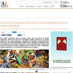 Les ventes numériques de comics ne cannibalisent pas les ventes physiques