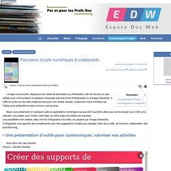 Panorama d'outils numériques & collaboratifs