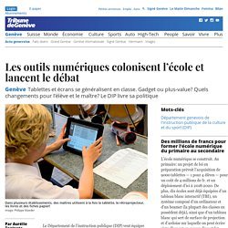 Genève: Les outils numériques colonisent l'école et lancent le débat